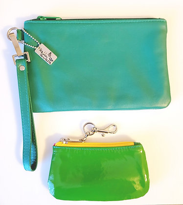 Shakey Clutch & Melissa Coin Purse combo