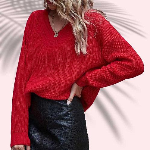 Sweater Viña Rojo