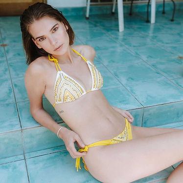 bikinis y trajes de baño agua de coco