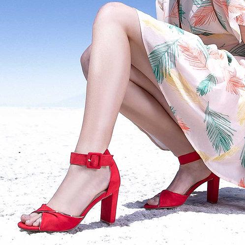Zapato Elqui Rojo