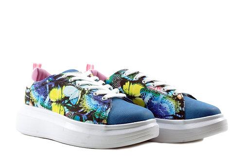 Zapatilla Floral