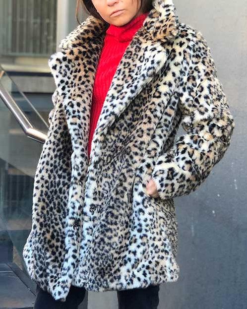 Abrigo Cifuncho Leopardo