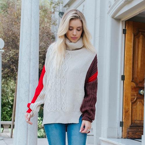 Sweater Olmué Ocre