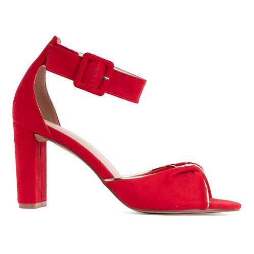 Zapato Mujer Agua de Coco Pulsera Rojo