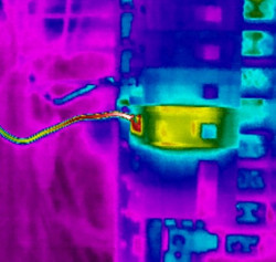 infrared inspection electrical breaker issue