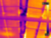 Infrared thermal imaging water leak dete