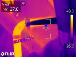 Infrared Frozen Pipe locating