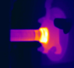 infrared inspection overheating bearing