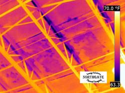 Infrared thermal imaging water leak detection 7
