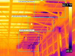 Infrared thermal imaging water leak detection 9