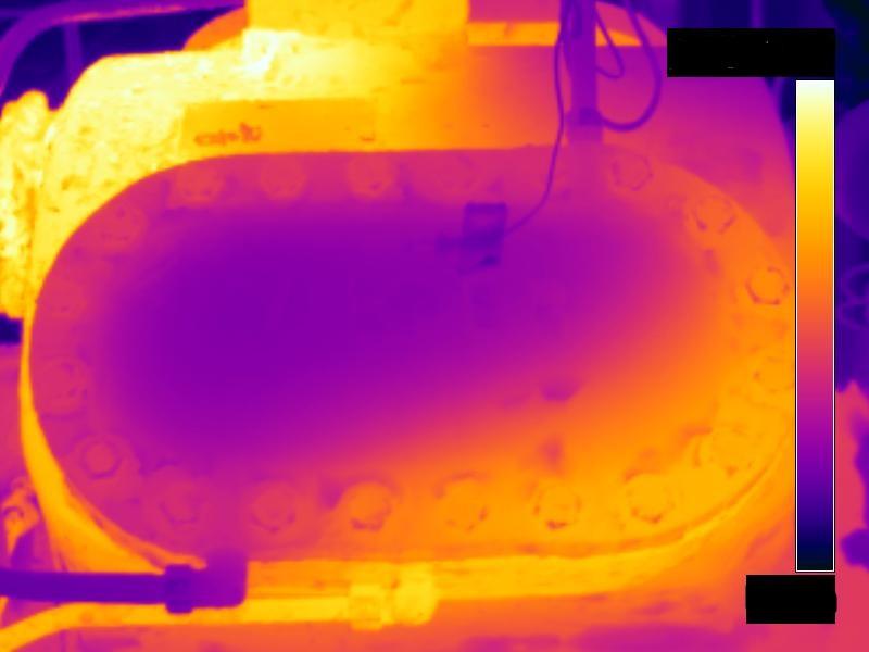 infrared ammonia compressor