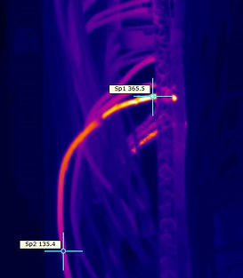Infrared thermal Imaging  Electrical Bre
