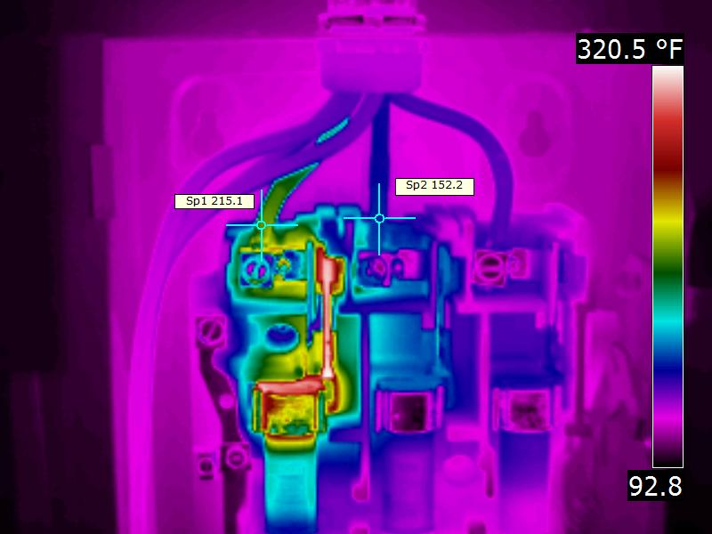 Infrared Electrical Disconnect Inspection