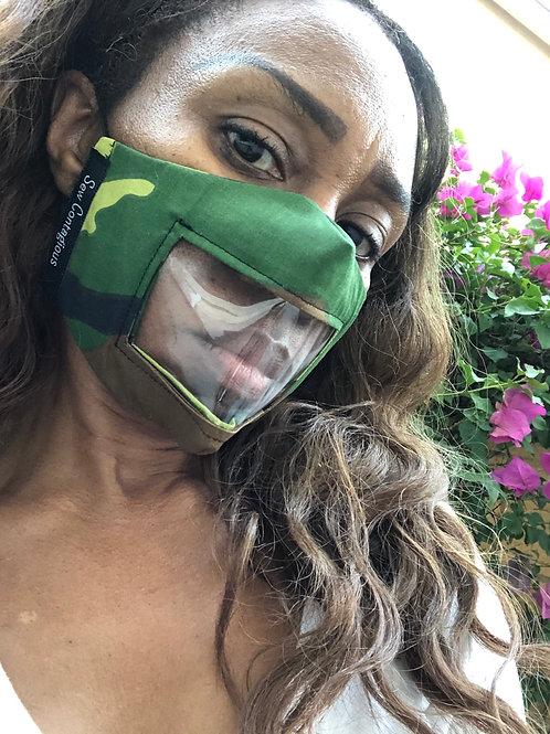 Camouflage Window Mask