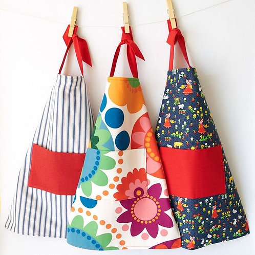 DIY Reversible Apron