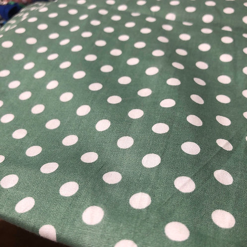 Sage Dots Barre Cover