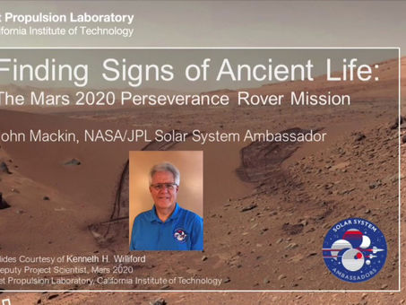 Finding Ancient Signs of Life on Mars