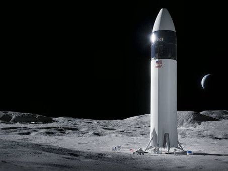 NASA Selects SpaceX for Next Moon Lander
