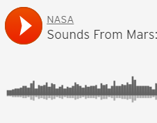 First Audio Recording of Red Planet