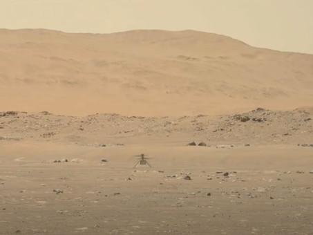 Ingenuity Helicopter Flies on Mars
