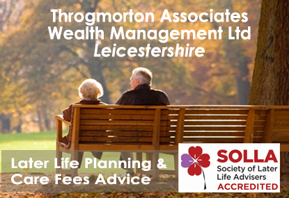 Later Life Planning & Care Fees Advice