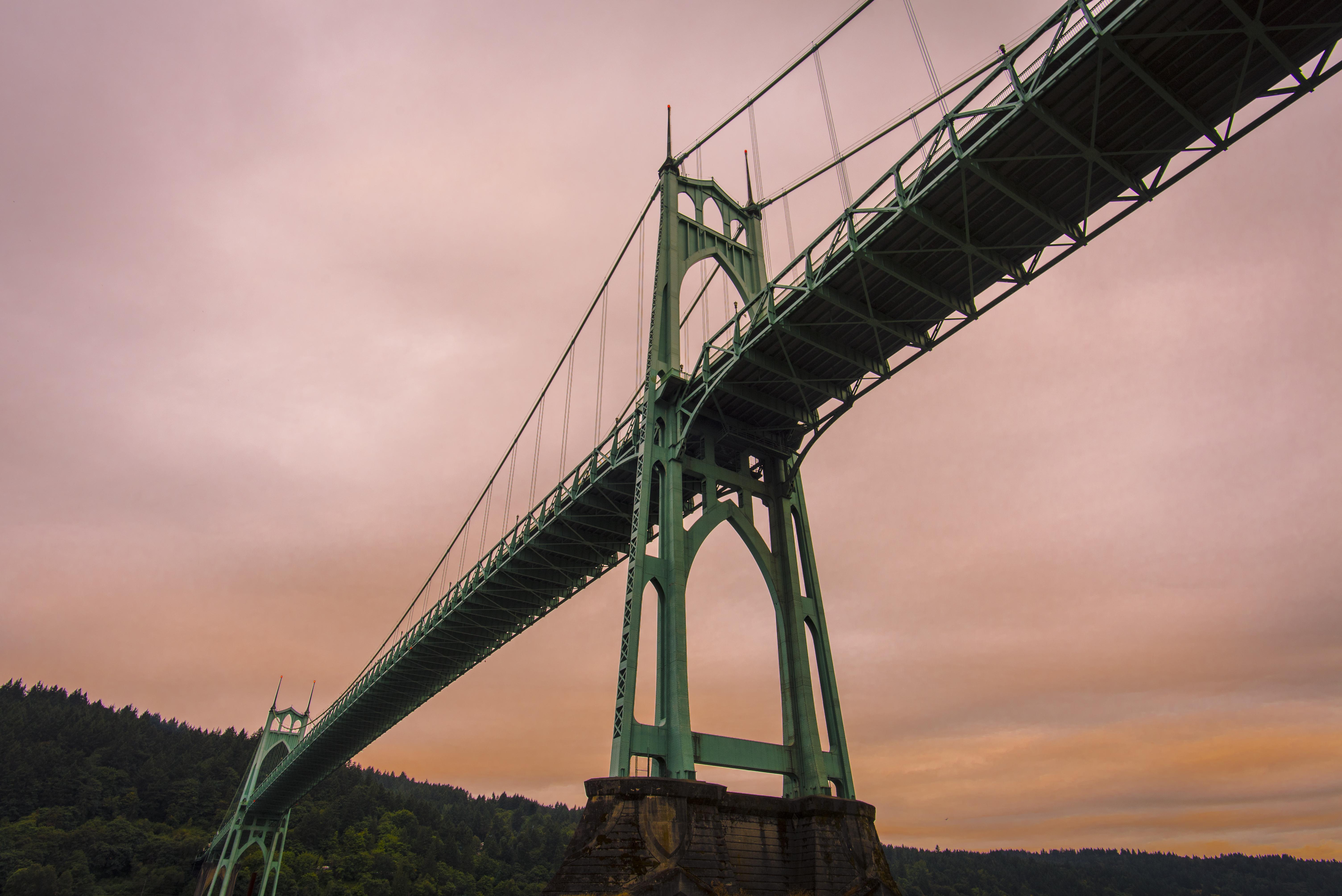 St John's Bridge, Portland, OR