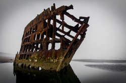 The Wreck of the Peter Iredale, OR