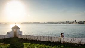 Sessão no Forte da Barra Grande   Ana & João