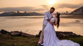 Casal no Emissário - Santos   Vanessa & Valdei