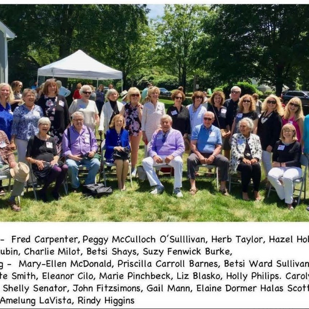 FACULTY ATTENDING THE CELEBRATION PHOTO