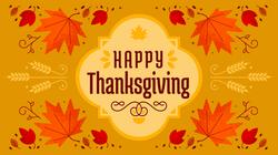 2018 Happy Thanksgiving