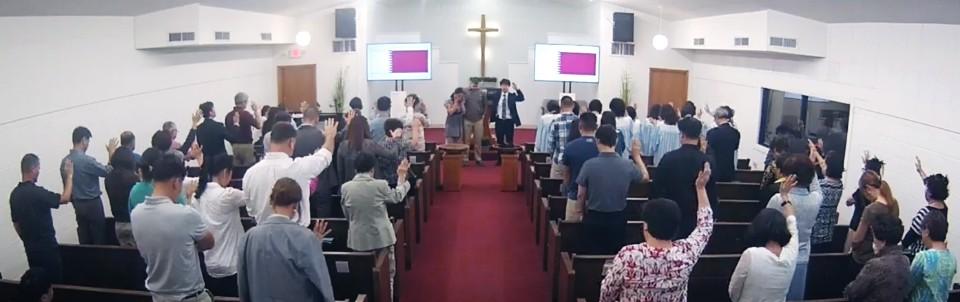 백태산 형제 파송 기도