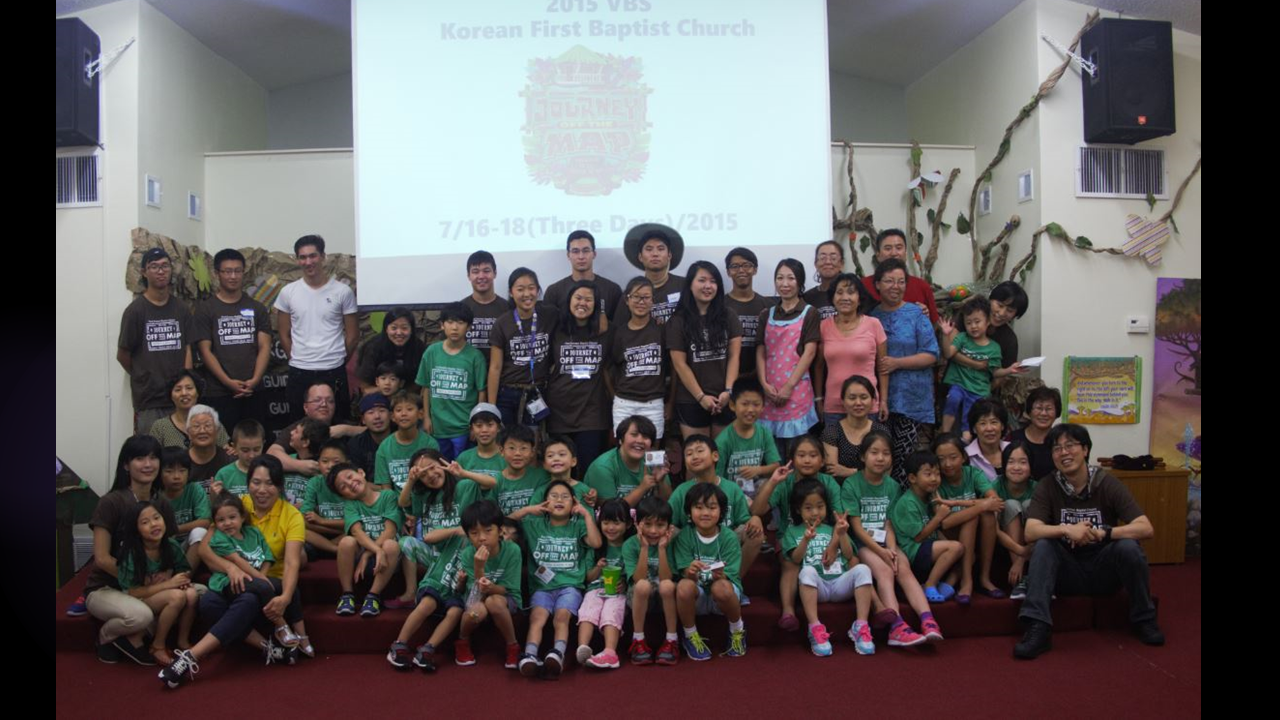 2015 VBS Journey off the Map