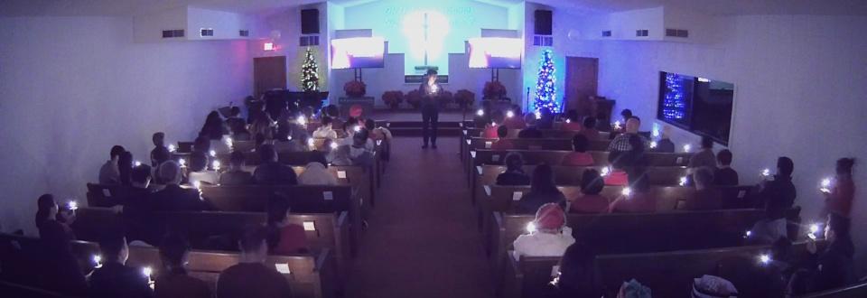 Christmas Eve Candle Lights Service