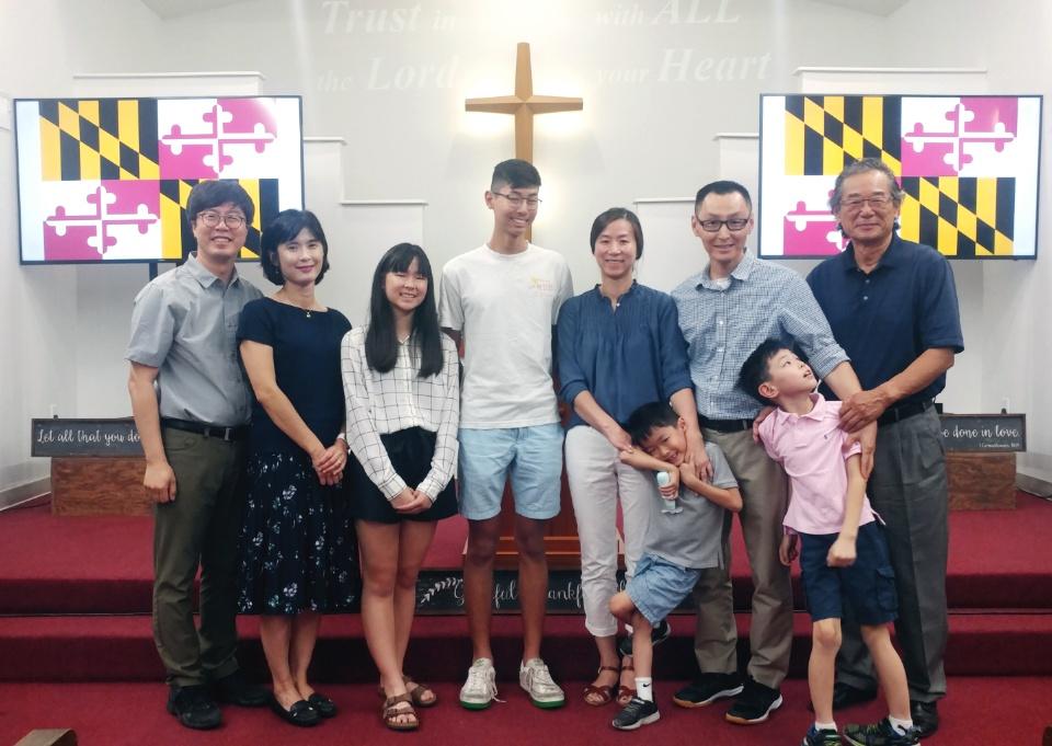 SEND Maryland The Baek Family