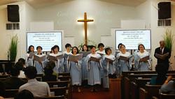 CHOIR May God bless our church
