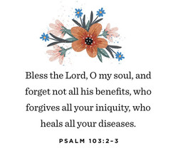 Psalm 103 2-3