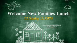 2020 New Families Lunch