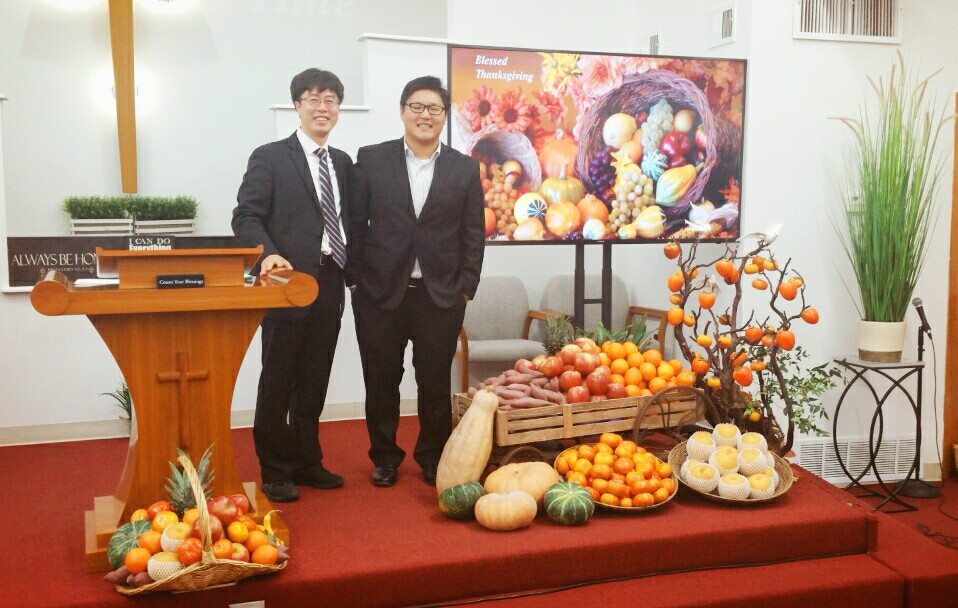 Thanksgiving Preaching Together