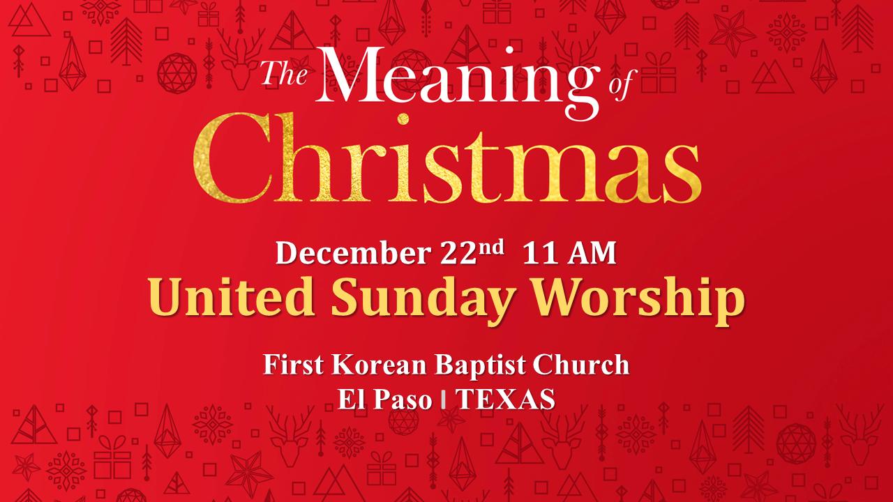 2019 Christmas Worship