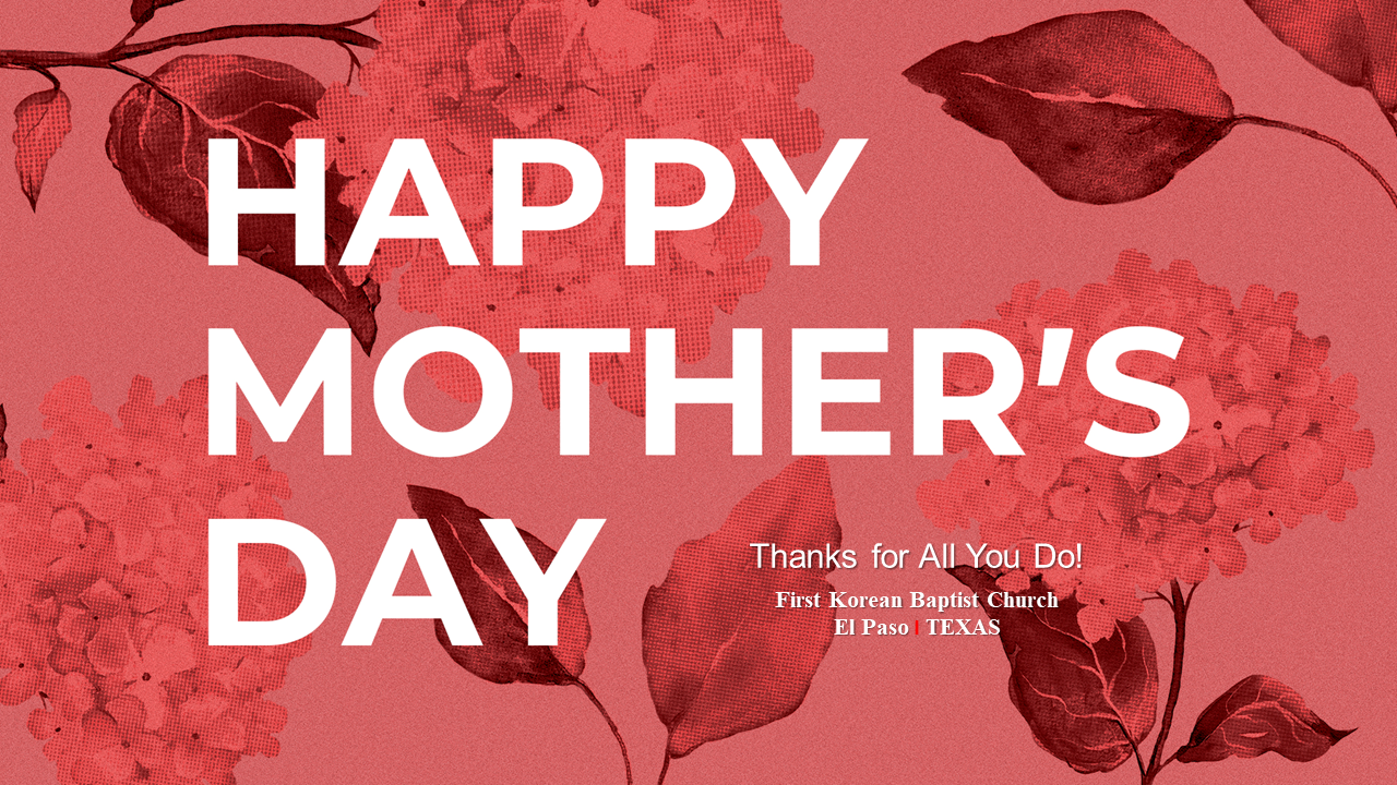 2020 Happy Mother's Day