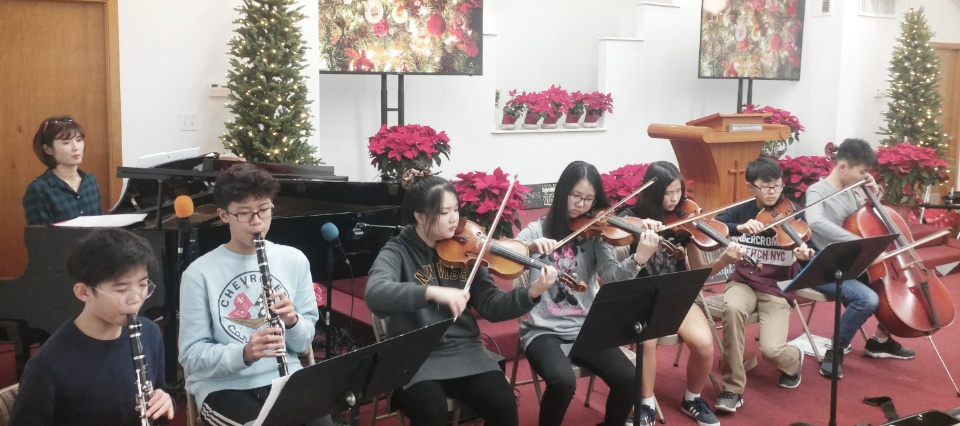Christmas Orchestration Practice