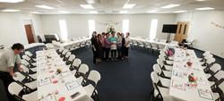 New Families Banquet Setup