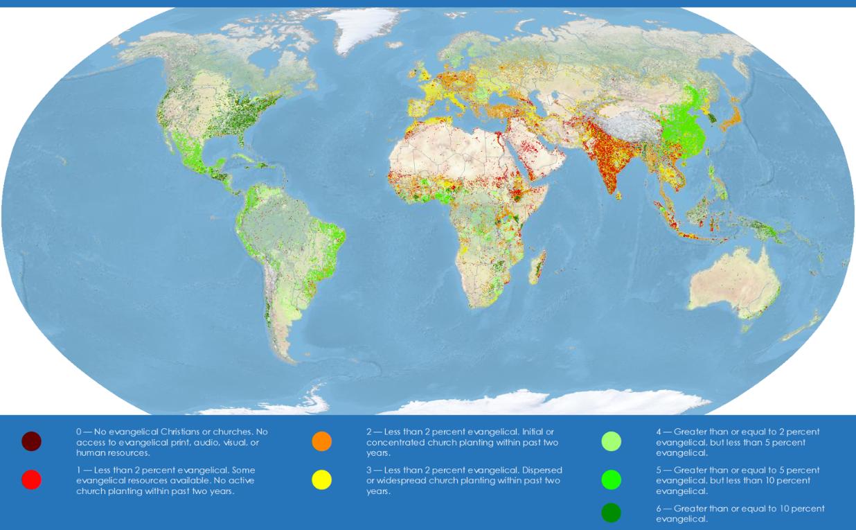 World Evangelism Data