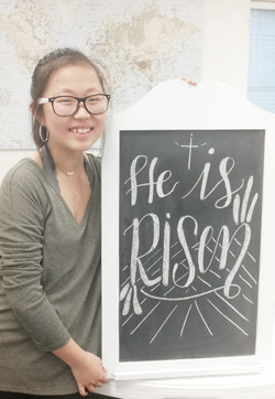 He is Risen by Sarah Chung