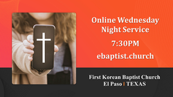 Online Wednesday Night Service