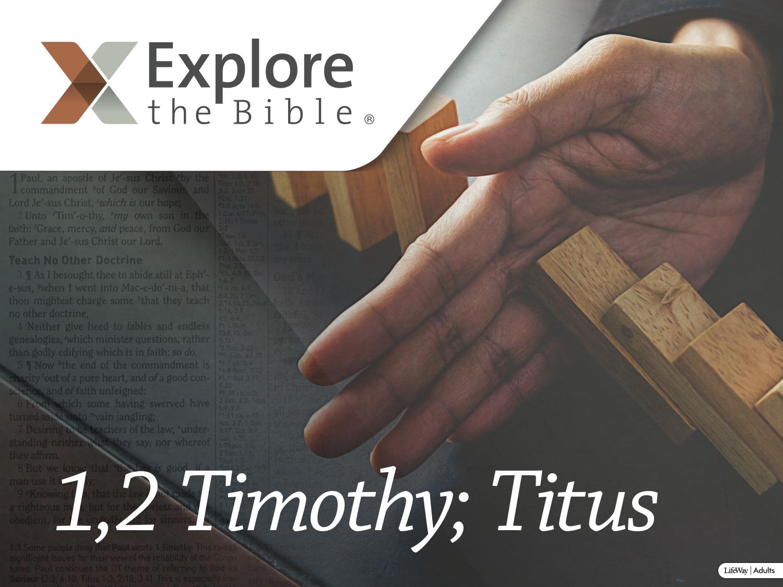 1,2 Timothy; Titus