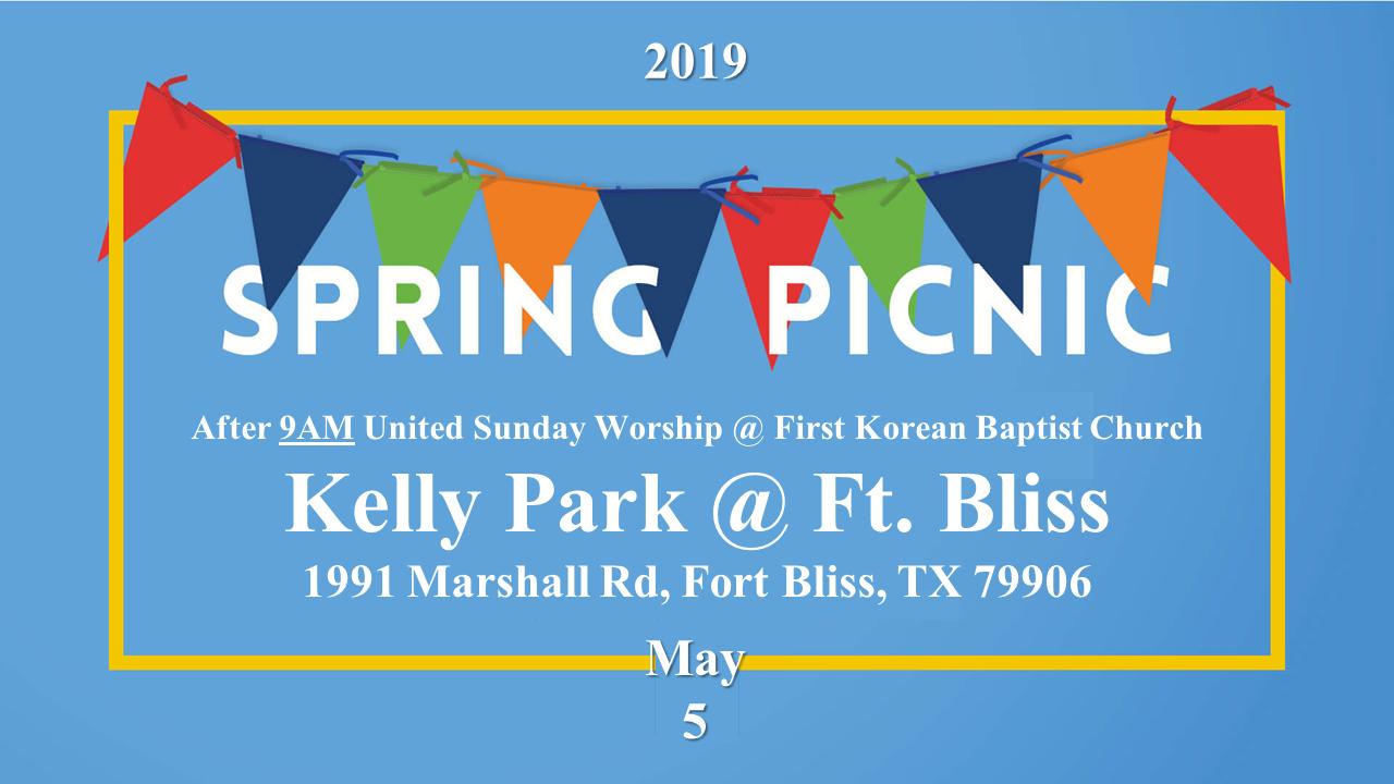 Spring Church Picnic