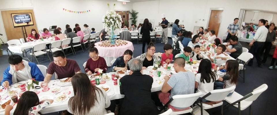 New Families Banquet