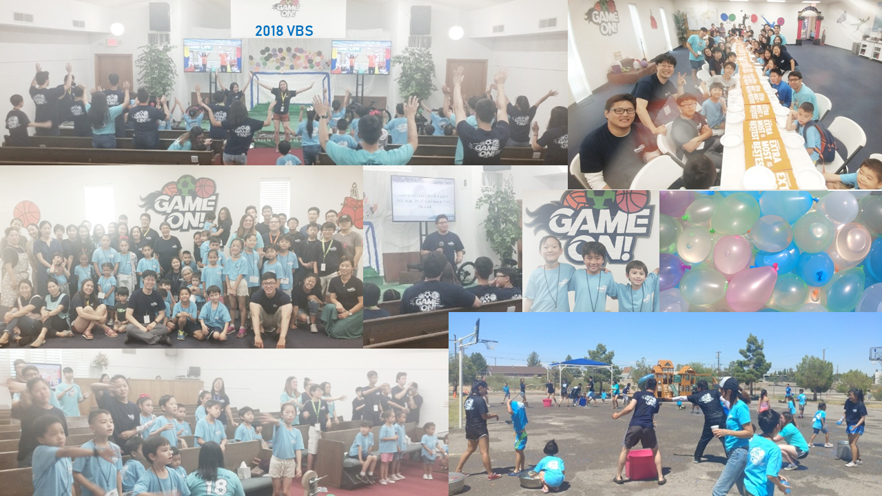 2018 VBS Game On